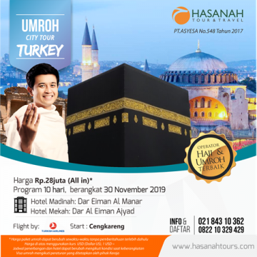 Umroh City Tour Turkey
